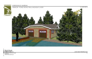 Minnow Pond Boathouse Concept