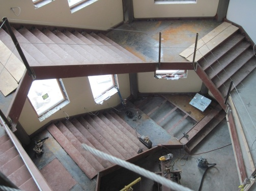 Monumental Stair Construction