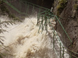 The raging Ausable River - PC - High Falls Gorge